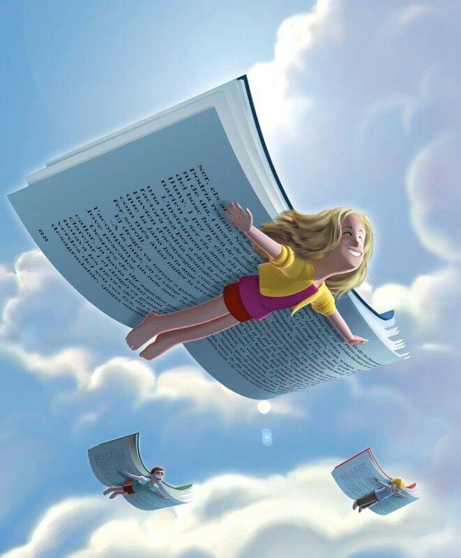 Imaginação  voando