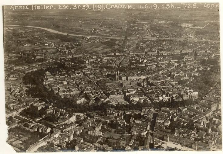 Magiczny Kraków - Kazimierz in the old photos-Cracow, military photography, 1919, photo: MHK archives