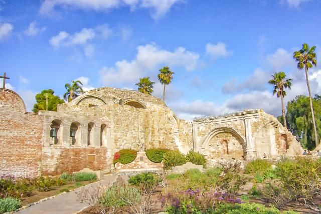 Mission San Juan Capistrano - history, historical and current photographs, resources for Mission San Juan Capistrano