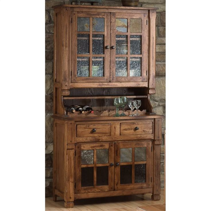 Sedona Buffet In Rustic Oak In The Sedona Collection By Sunny Designs