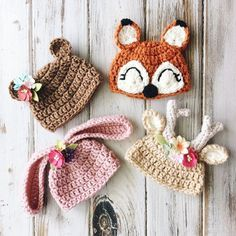 All new hats especially for your SpunCandy Handmade Doll. So cute! Crochet doll hats! See this Instagram photo by @spuncandydolls • 8 likes