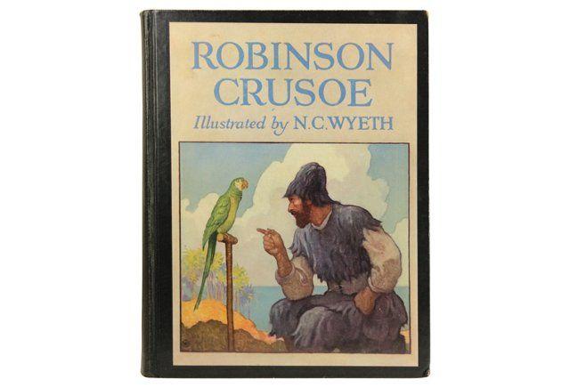 Robinson    Crusoe. One Kings Lane