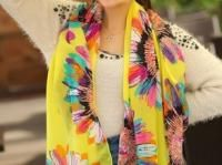 Sunflower Duolei Si Chiffon scarf ( Yellow ) Add a splash of style and colour with katie do little fab fashion scarves in exquisite fabric choices SizeLengh:165-170cm Width:65-70cm MaterialChiffon    £6.99 In stock Quantity1