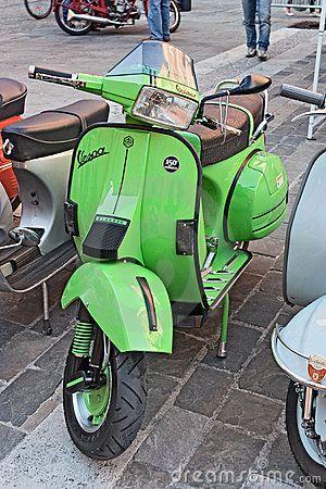 Vintage Italian Scooter...