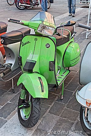 Vintage Italian Scooter...