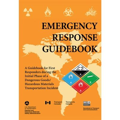 A guidebook for first responders during the initial phase of a dangerous goods/hazardous materials/transportation incident. Learn how to respond to incidents involving dangerous goods and hazardous substances.