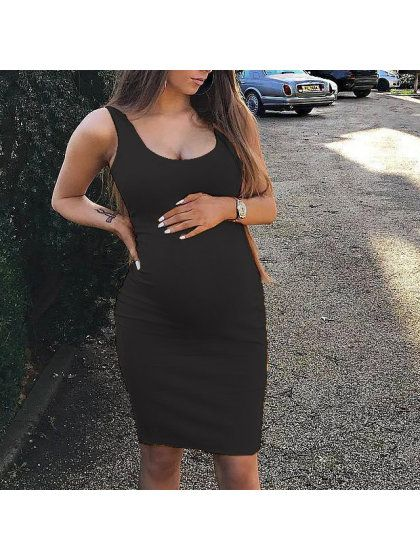 Casual maternity summer dress   – Maternity dresses
