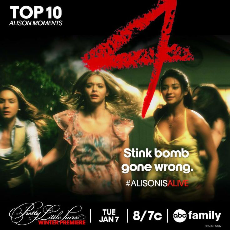 Here is #4 of the Top 10 Alison Moments! #AlisonIsAlive #PLL