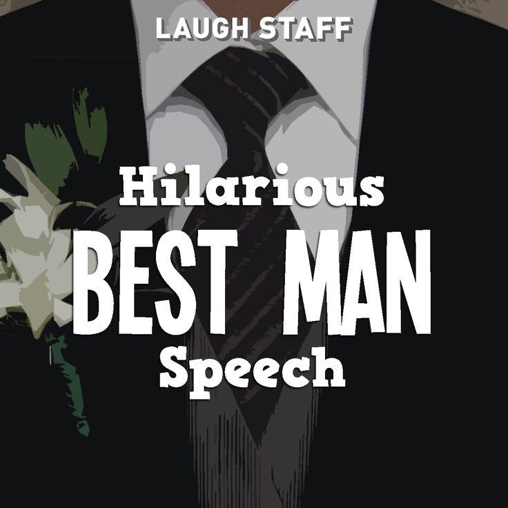 Funny Best Man Speech Example