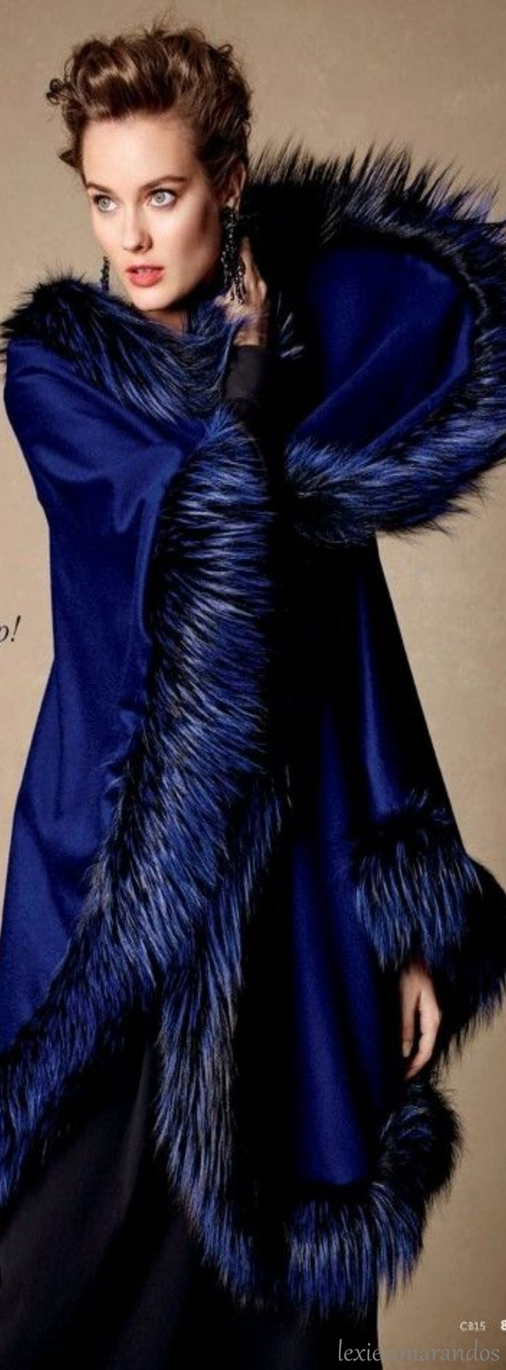 This. Glam. Color. Blue!