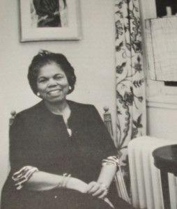 Estelle Massey Osborne, the FIRST Black nurse in the U.S. to earn a Master's degree in nursing.