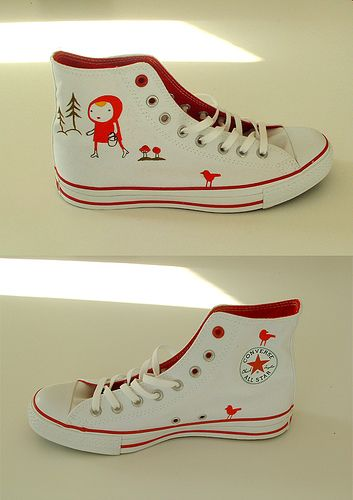 little red riding shoes