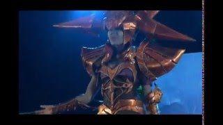 Nimdra Cosplay - YouTube   Lissandra, league of legens, blade queen lissandra