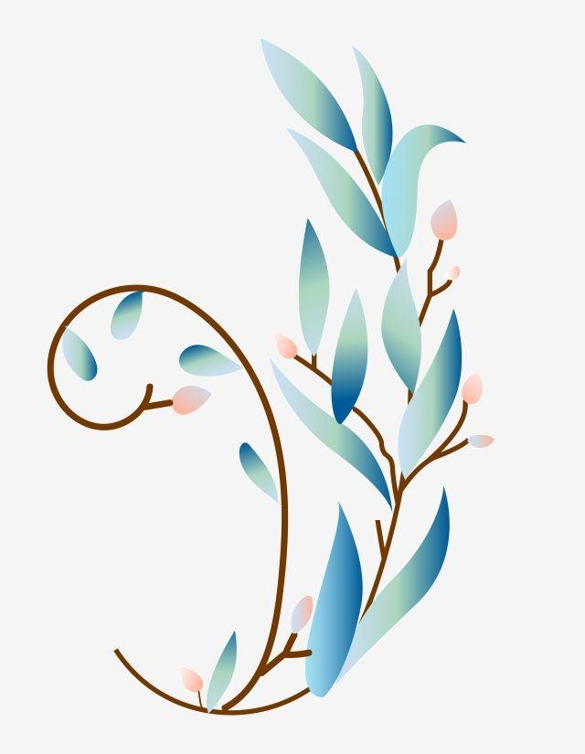 Beautiful Plant Flower Vine Illustration Flower Vine Beautiful Flower Vine Plant Flower Vine Png And Vector With Transparent Background For Free Download Flowering Vines Leaf Illustration Watercolor Flower Background