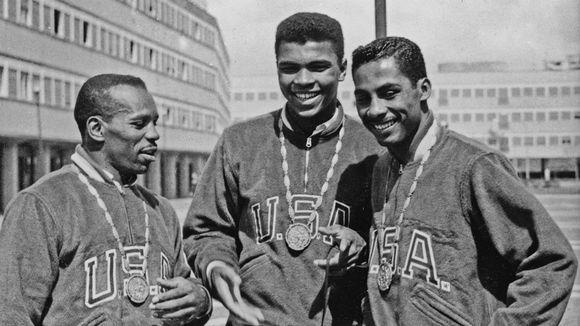 Eddie Crook, Cassius Clay, Skeeter McClure.
