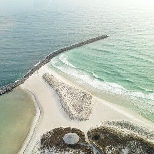 St. Andrews State Park, Panama City, FL - great place to snorkel along the jetty