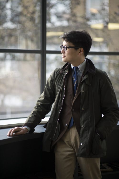 Mark Cho in Barbour