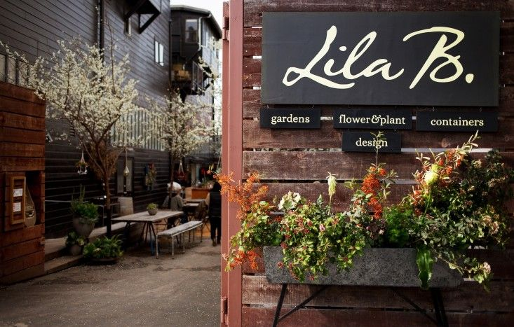 Shopper's Diary: Lila B. Design at Stable Café in SF's Mission District: Gardenista