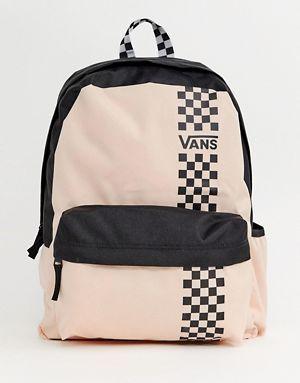 ac293efe8a Vans pink good sport realm backpack