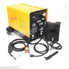 150AMP MIG 150 110V Flux Core 2-Way Welding Machine Gas/No Gas Welder Wire Feed