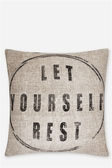 Let Yourself Rest Cushion