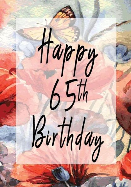 Happy 65th Birthday Birthday Gifts For Her Birthday