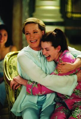 Julie Andrews and Anne Hathaway. Ah. I don't care what you say. I will always love this movie. THis is also the best scene of all time