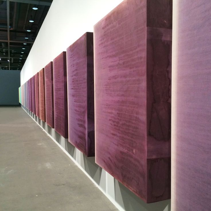 "Sam Falls ""Untitled - Book for Jamie"" 2014 #artbasel2015 #artbaselunlimited #artfair #artbasel #unlimited2015 #contemporaryart #artaddict #basel #artinstallation"