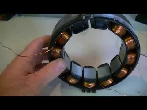 Tesla Hybrid, The Lenz Force Motor Generator pt2 - YouTube