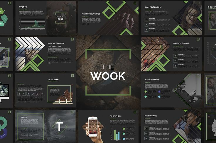 Wook | Powerpoint Template by Zacomic Studios on @creativemarket