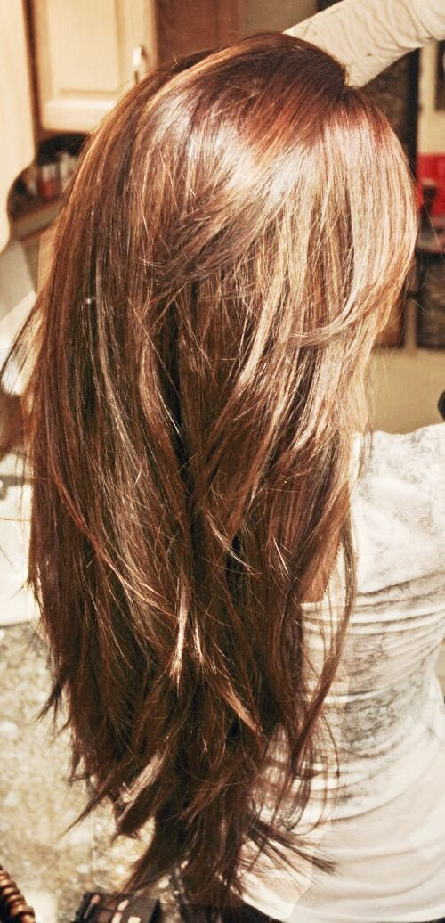 Wondrous 1000 Ideas About Long Layered Haircuts On Pinterest Haircuts Hairstyles For Women Draintrainus