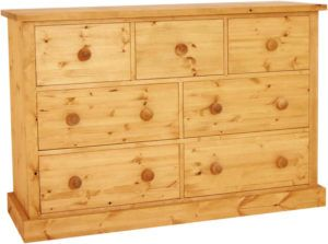 Wide Chest Of Drawers Pine