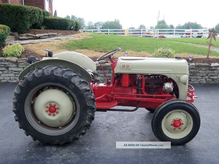 1950 Ford Tractor Tractor Vermilion : Ford tractors n tractor