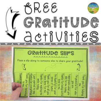 Help kids and young adults practice gratitude by learning what we are thankful for. Gratitude promotes happiness, positive thinking, and creates a positive classroom climate. Research shows numerous social, emotional, and health benefits from developing gratitude and appreciation skills. Why Teach Gratitude