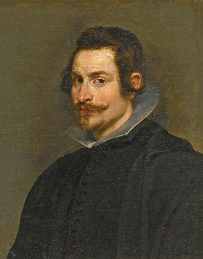 Portrait Of A Gentleman Half Length Wearing Black By Peter Paul Rubens Peter Paul Rubens Portrait Rubens