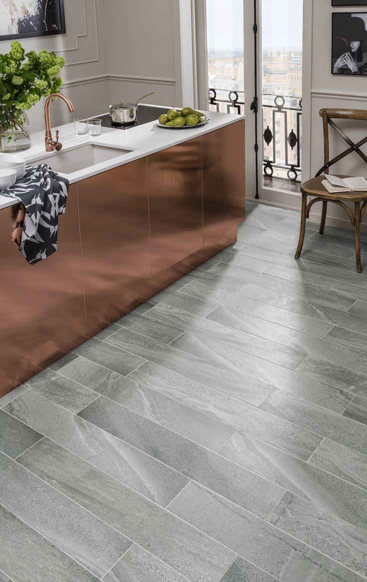 The 25 best topps tiles ideas on pinterest blue kitchen tiles thurston silver slate effect grey tile topps tiles kitchen dailygadgetfo Images