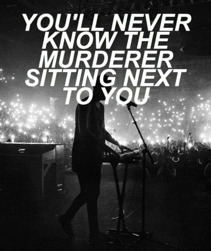 Heathens // Twenty One Pilots | If you haven't already heard it I would recommend looking it up and listening to it because it's amazing! |