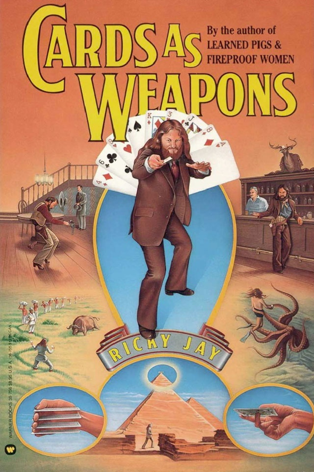 Cards As Weapons - Ricky Jay (1977)