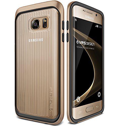 Galaxy S7 Edge Case, VRS Design [Triple Mixx] [Shine Gold] –