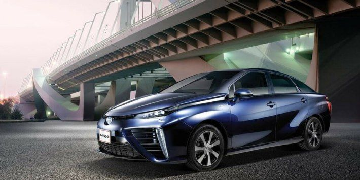 Toyota's New Hydrogen Fuel Cell Vehicle Wants To Change The World .