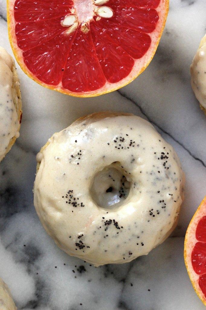 ... doughnuts with grapefruit vanilla jelly strawberry jelly and vanilla