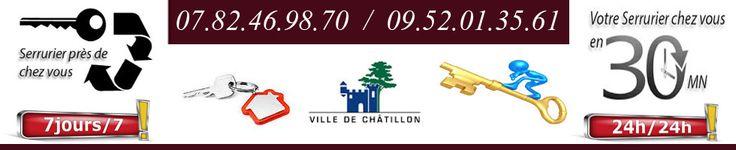 Serrurier Châtillon - L'entreprise Ets Dépann'Multiservices, forte de notre grande expérience dans la serrurerie générale sur la commune de Châtillon, nos serruriers Châtillon installent pour vous, des portes blindées des blocs serrure hautes performances cornières anti-pince etc.
