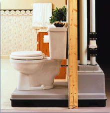 Qwik Jon toilet (for the basement)