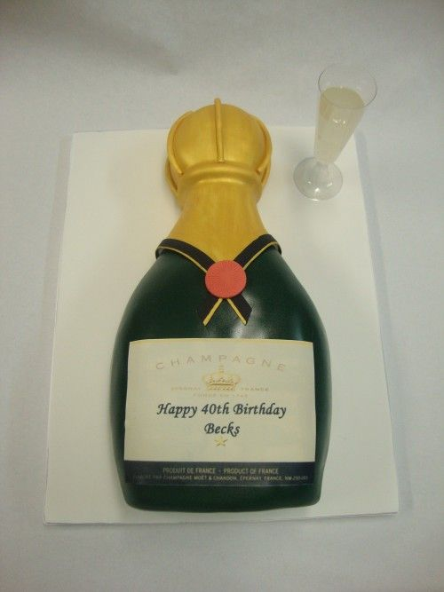 Champagne Bottle Cake Making Course