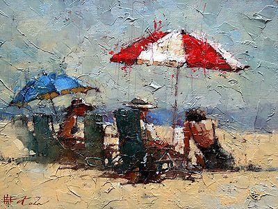 """""""En Vacances I""""   Andre Kohn"""
