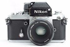 Nikon F2 Photomic 35mm SLR Film Camera 50mm f/2 From Japan