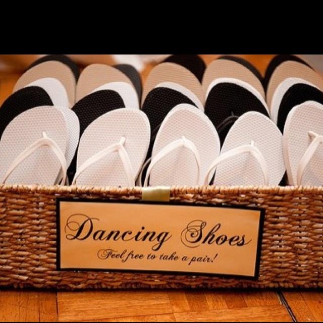 Cute idea!! Also, good idea for a beach or garden wedding so the heels don't sink in the sand/grass.