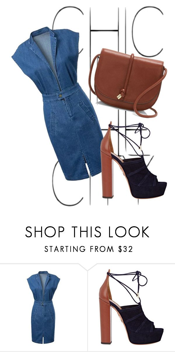 Chic in the city by missmikey on Polyvore featuring Aquazzura, Vince Camuto, Summer, stylish, everyday and collection