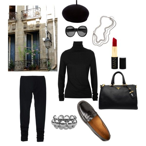 Parisienne Chic, created by cyderr on Polyvore