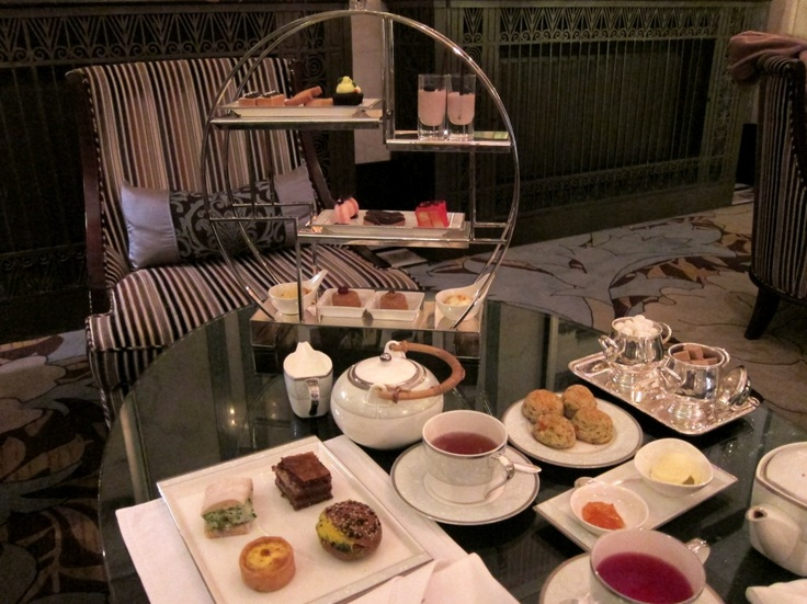 Afternoon tea at Fairmont Peace hotel in Shanghai